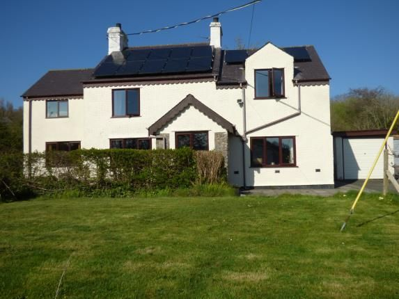 Thumbnail Detached house for sale in Glanrafon, Llangoed, Beaumaris, Anglesey