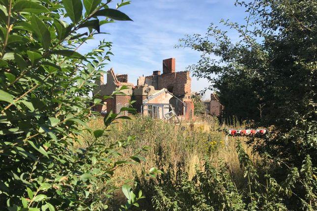 Thumbnail Land for sale in East Hall Farm Cottages, East Hall Lane, Wennington, Rainham, Essex