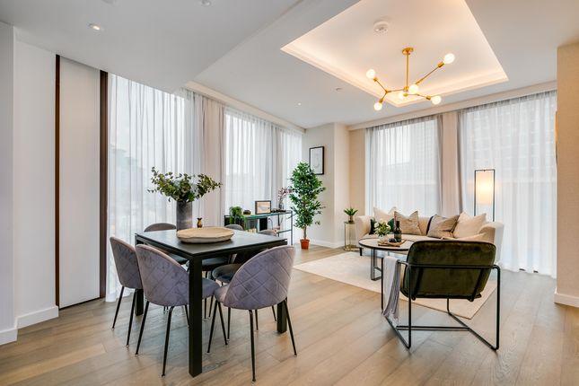 3 bed flat for sale in Thames City, Nine Elms SW8