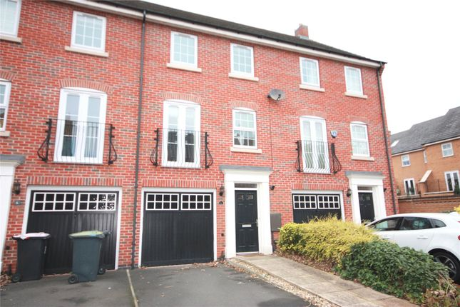 Thumbnail Town house to rent in Wharton Crescent, Beeston, Nottingham