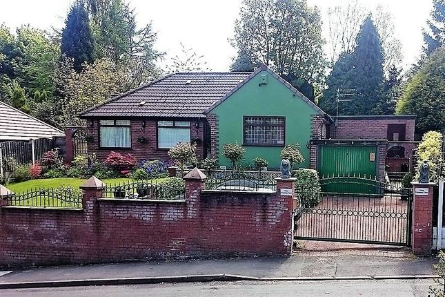 Thumbnail Detached bungalow for sale in Kerr Street, Blackley, Manchester