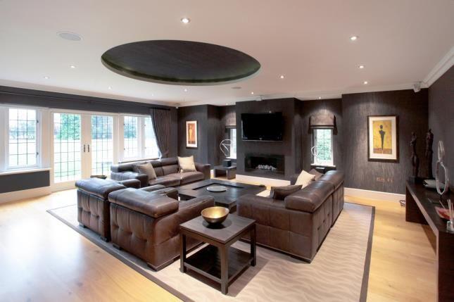 Living Room of Chelford Road, Alderley Edge, Cheshire SK9
