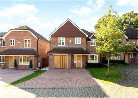 Thumbnail Detached house for sale in Cliddesden Court, Basingstoke Hampshire