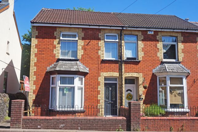 Thumbnail Semi-detached house for sale in Commercial Street, Ystrad Mynach, Hengoed