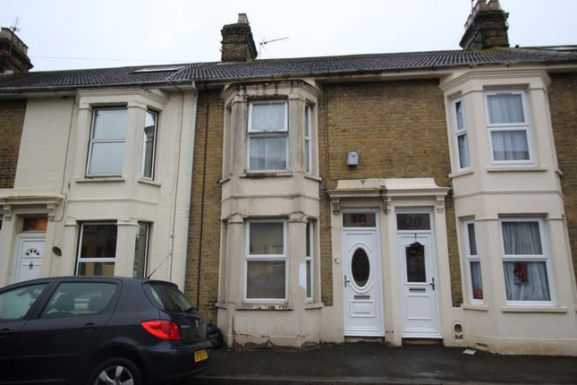 Thumbnail Terraced house for sale in Alexandra Road, Sheerness
