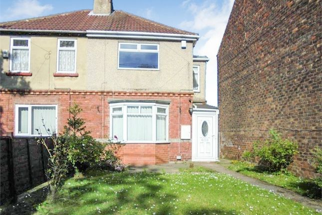 Thumbnail Semi-detached house for sale in North Road East, Wingate, Durham