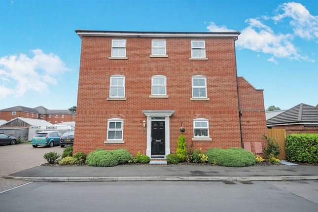 Thumbnail Town house for sale in Hillier Road, Devizes