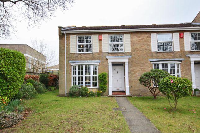 Thumbnail End terrace house to rent in Pennington, Lymington, Hampshire