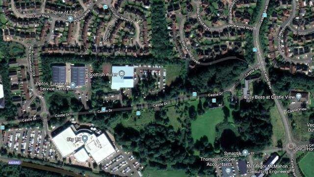 Thumbnail Land for sale in Sites At Pitreavie Castle Estate, Castle Drive, Dunfermline