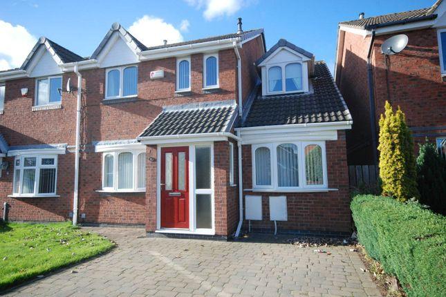 Thumbnail Semi-detached house to rent in Woodvale Drive, Hebburn