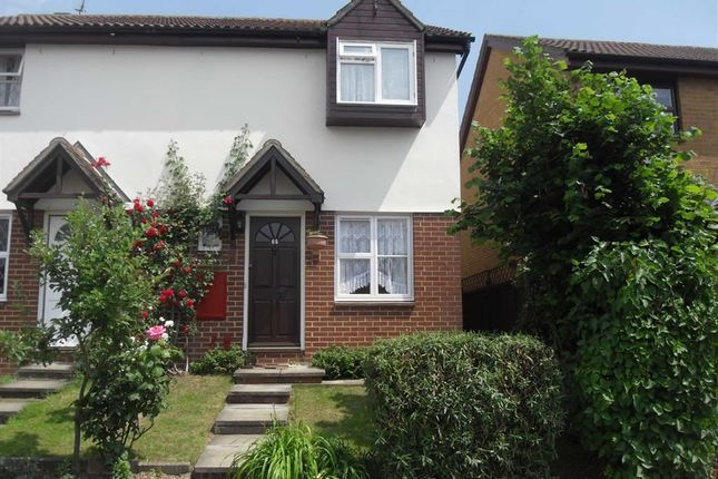 Thumbnail Semi-detached house to rent in Pebmarsh Drive, Wickford, Essex