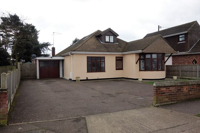 Thumbnail Detached bungalow for sale in Busseys Loke, Bradwell, Great Yarmouth