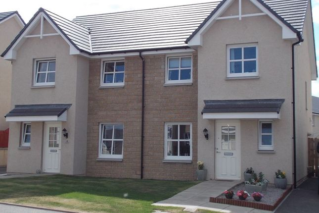 Thumbnail Semi-detached house for sale in Correen Way, Alford