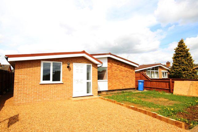 Thumbnail Detached bungalow for sale in 10 Nene Road, Burton Latimer