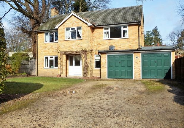 Thumbnail Detached house for sale in Sycamore Road, Farnborough, Hampshire