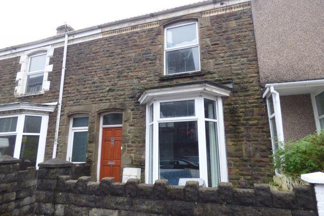 Thumbnail Terraced house to rent in Norfolk Street, Swansea