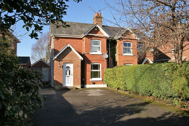 Thumbnail Semi-detached house for sale in Wimborne Road, Corfe Mullen, Wimborne