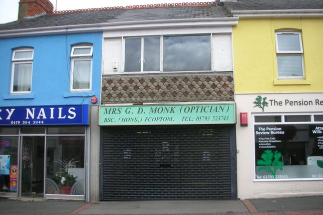 Thumbnail Retail premises for sale in Havelock Street, Swindon