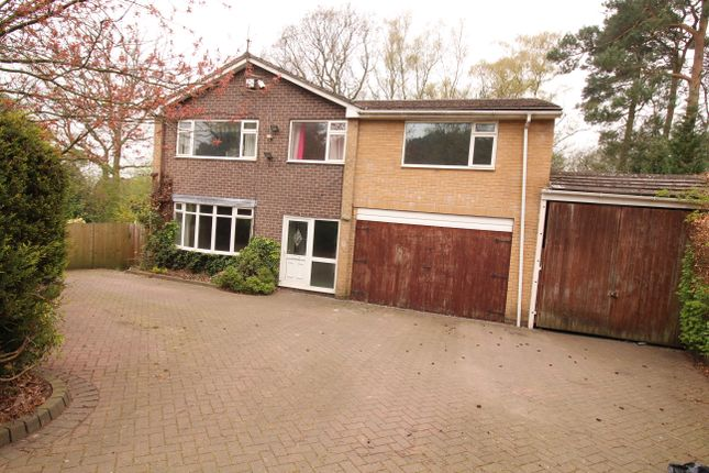 Thumbnail 4 bed detached house to rent in Derwent Drive, Loggerheads