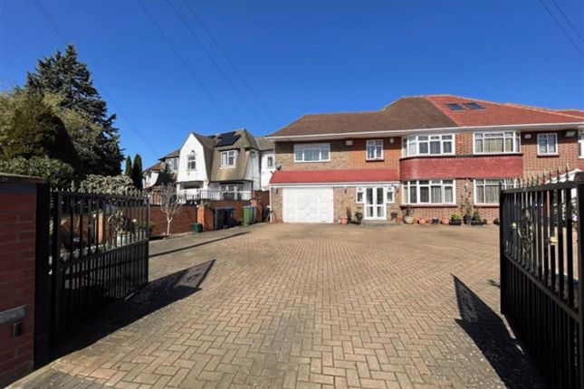 Thumbnail Semi-detached house for sale in Craneswater Park, Norwwod Green, Middlesex