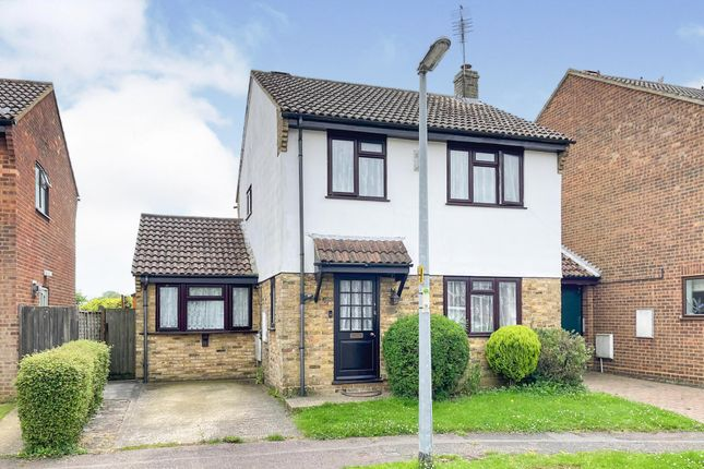 Thumbnail Detached house for sale in Crawley Close, Slip End, Luton