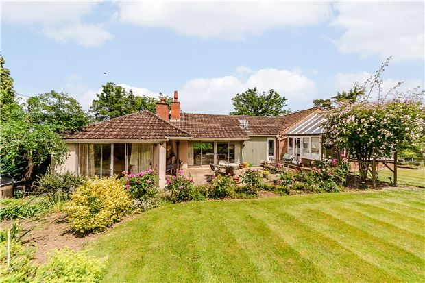 Thumbnail Detached bungalow for sale in High View, Harp Hill, Charlton Kings, Cheltenham, Gloucestershire