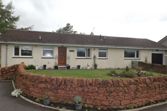 Thumbnail Detached bungalow for sale in Vendace Drive, Lochmaben, Lockerbie, Dumfries And Galloway