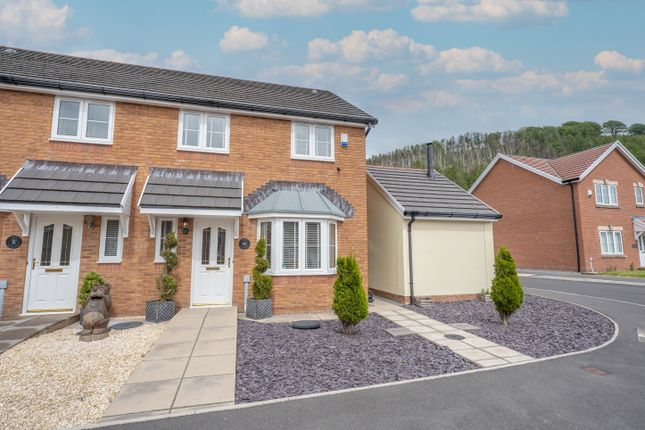 Thumbnail Semi-detached house for sale in Copper Beech Drive, Tredegar