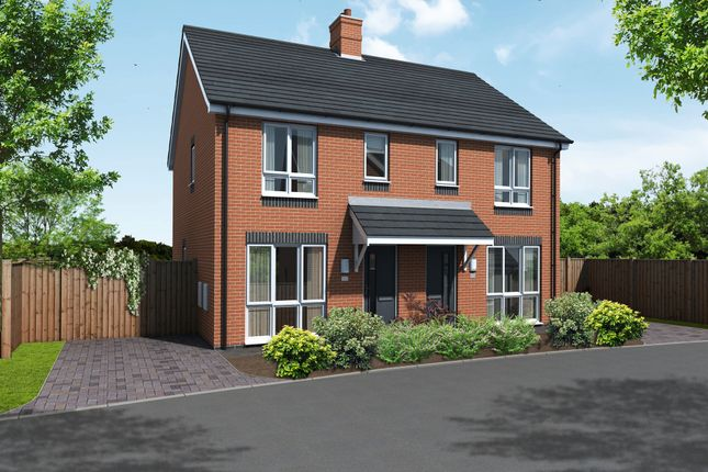 Thumbnail Semi-detached house for sale in Newton Lane, Austrey, Atherstone