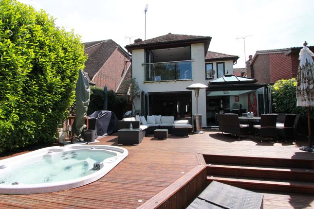 Thumbnail Detached house for sale in Woodlands Road, Hockley, Essex