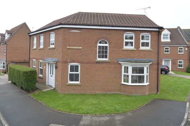 Thumbnail Detached house for sale in Willowdale Close, Bridlington