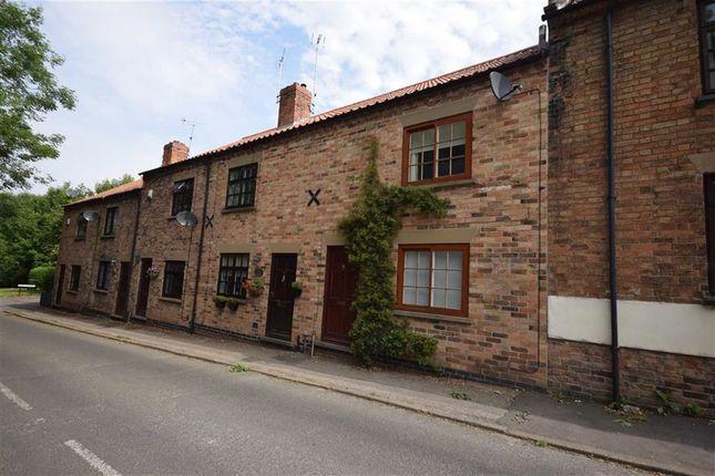 Thumbnail End terrace house for sale in Fiskerton Road, Southwell, Nottinghamshire