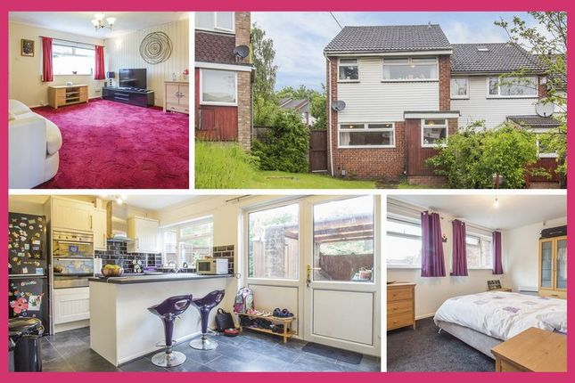 Thumbnail End terrace house for sale in The Hawthorns, Cardiff