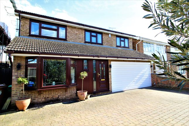 Thumbnail Detached house for sale in Rushley Close, North Grays