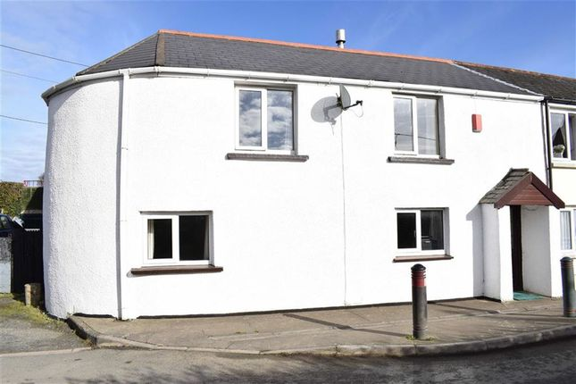 Thumbnail End terrace house to rent in Fore Street, Langtree, Devon