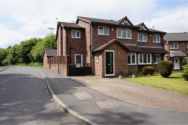 Thumbnail Semi-detached house for sale in Hazlemere, Bolton