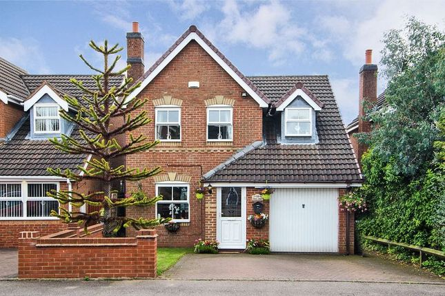 Thumbnail Detached house for sale in Angel Croft, Chase Terrace, Burntwood