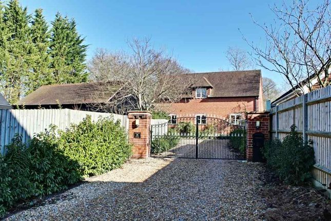 Thumbnail Detached house for sale in Milkingpen Lane, Old Basing, Basingstoke