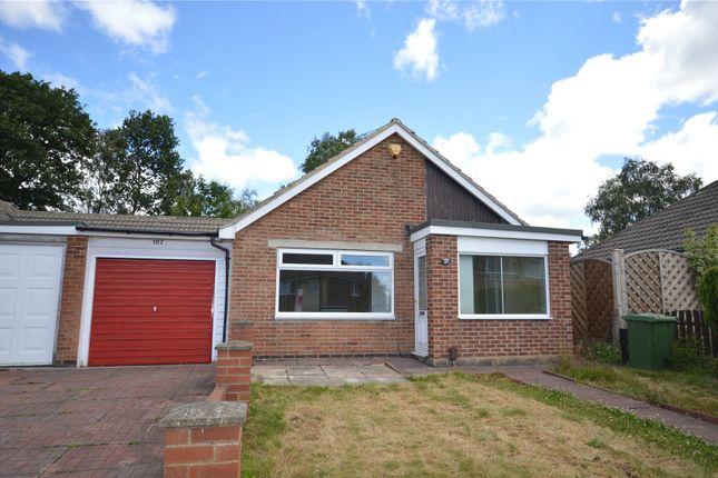 Thumbnail Semi-detached bungalow for sale in Moseley Wood Drive, Cookridge, Leeds