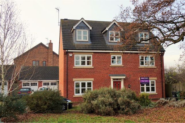 Thumbnail Detached house for sale in Thomas Firr Close, Quorn, Loughborough