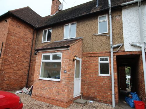 Thumbnail End terrace house to rent in Tachbrook Road, Whitnash, Leamington Spa