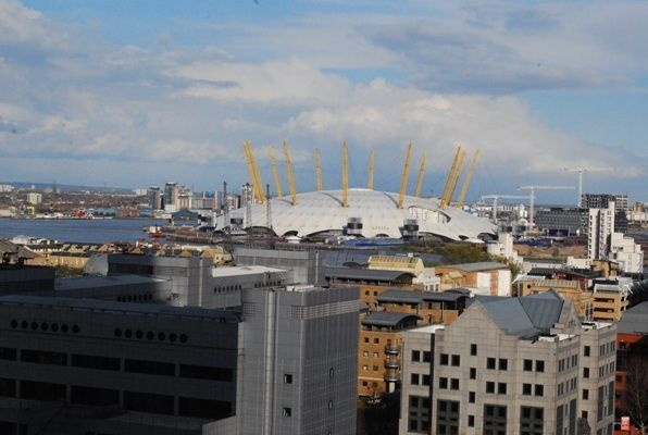 600 View 2 of Pan Peninsula Square, East Tower, Canary Wharf E14