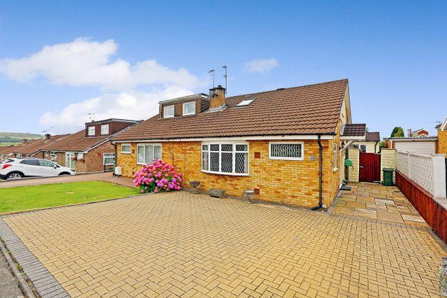 Thumbnail Semi-detached bungalow for sale in Milford Close, Tonteg, Pontypridd