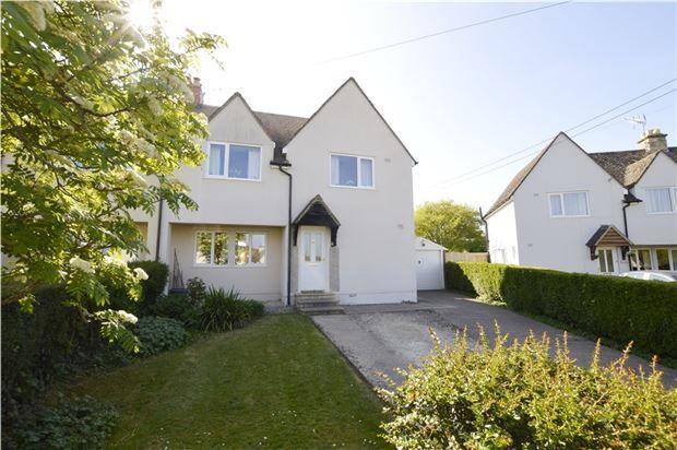 Thumbnail Semi-detached house for sale in Box Crescent, Minchinhampton, Gloucestershire