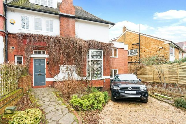 Thumbnail Semi-detached house for sale in Frognal, Hampstead