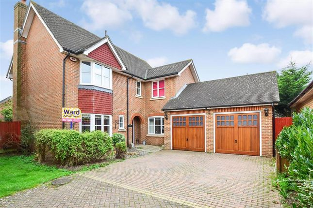 Thumbnail Detached house for sale in Alfriston Grove, Kings Hill, West Malling, Kent