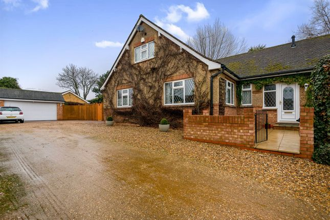 Thumbnail Detached bungalow for sale in Green Lane, Wootton, Northampton