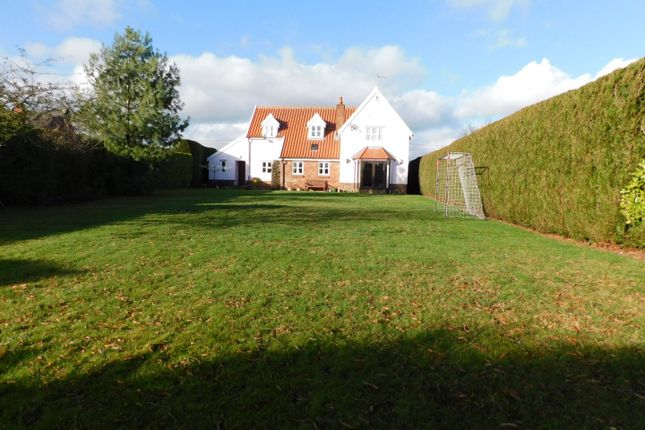 Thumbnail Detached house for sale in Church Road, Bacton, Stowmarket