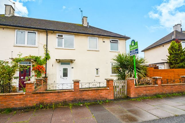 Thumbnail Semi-detached house for sale in Caledine Road, Leicester
