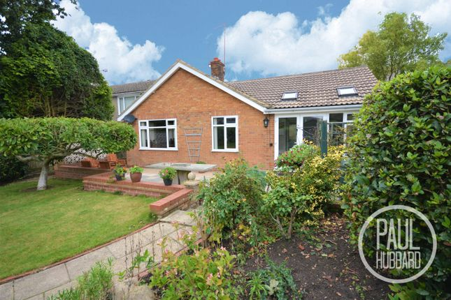 Thumbnail Detached bungalow for sale in Corton Long Lane, Corton, Lowestoft